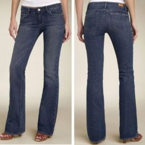 Paige Hollywood Hills Bootcut Denim Jeans Size 24